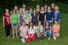 Gruppenfoto mit allen