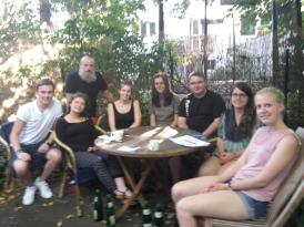 Unsere Kleingruppe bei fid in Köln