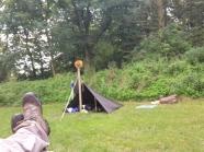 Unser Lager auf der Jomsburg