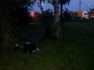 Unser Nachtquatier auf der Autobahnraststätte