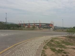 Das WM Stadion von Mbombela