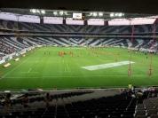 Beim Rugbyspiel im Wm Stadion