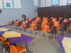 Unsere Hall